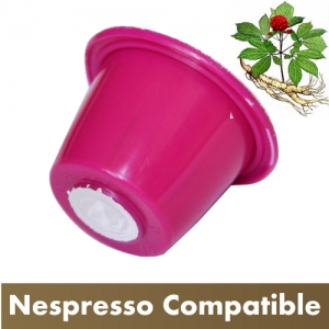 Best Espresso GINSENG Coffee Capsules. Pack of 25.