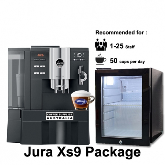 jura xs9 package coffee supplies australia. Black Bedroom Furniture Sets. Home Design Ideas